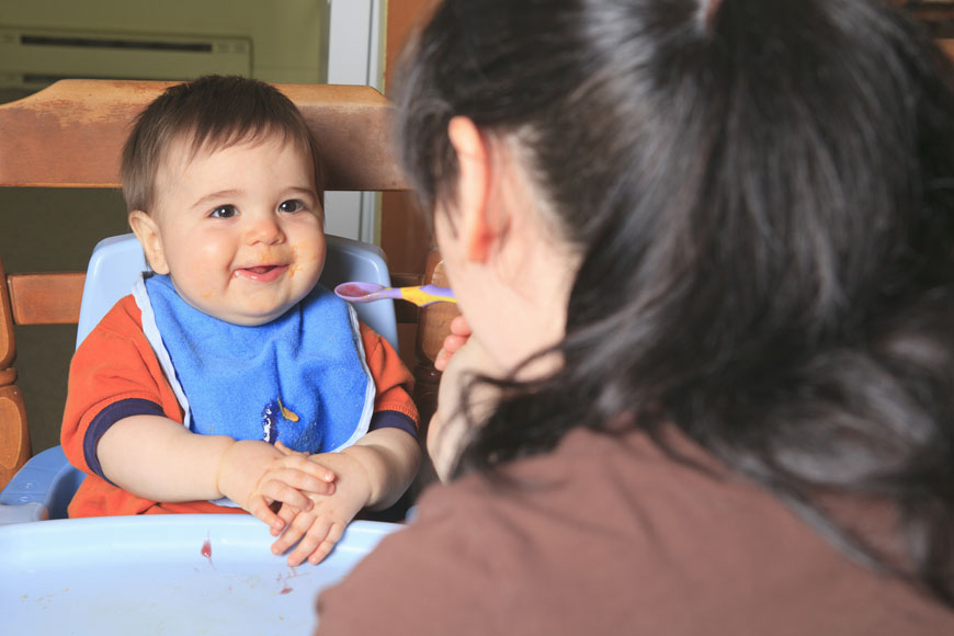 Introducing Solids To Your Baby: When and What?