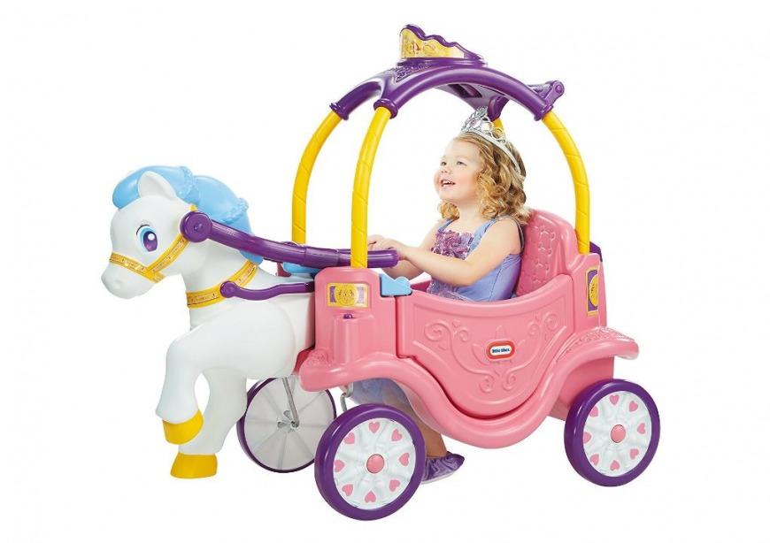 Little Tikes Princess Horse & Carriage Cozy Coupe in Dubai
