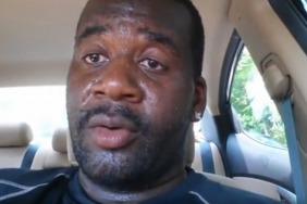 Dad locks himself in a car to send important message