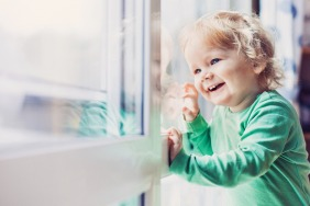 Keeping kids safe by the window