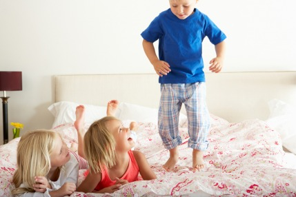 Relax your child before bedtime